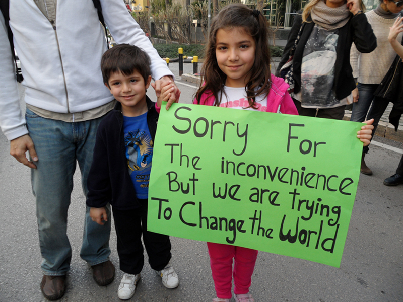 Sorry for the inconvenience but we are trying to change the world